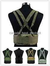 Airsoft Tactical Military Hunting Molle Combat Waist Padded War Belt w/Suspender