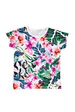 Baby girls Bonds bright tropical print tee Size 0  1  2