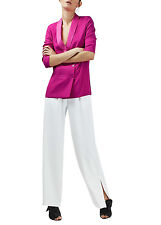 Womens Ladies TOPSHOP Soft Tailored Pink Blazer with Relaxed Fit RRP £55