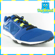REEBOK RUNNING BLUE SUBLITE TRAINERS MENS SALES SAMPLE SHOE NEW  9 US / 42 EUR