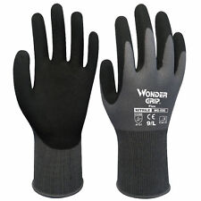 Wonder Grip Gloves Finger Mittens Comfort Work Nitrile Coating Nylon Creative