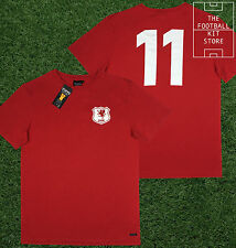 Wales Shirt - Toffs Licensed Retro Football Shirt - Number 11