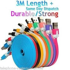 USB Data Sync Charger Cable Lead For iPhone 4 4S 3G 3GS iPad 2 3 iPod
