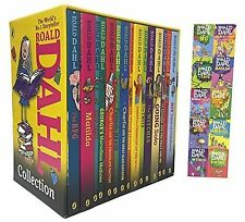 Roald Dahl: 15 books collection pack: The Witches Matilda The BFG Going Solo ...