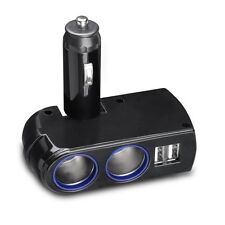 PREMIUM 2-PORT SPLITTER USB CAR CHARGER SOCKET DC POWER ADAPTER for AT&T PHONES