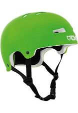 TSG Evolution Solid Flat Lime Green Helmet Skateboard Longboard BMX
