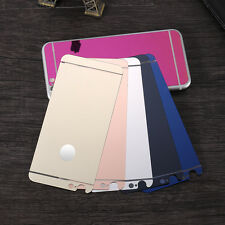 Mirror Tempered Glass Front + Back Screen Protector Film For Apple iphone Models