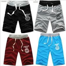 Mens Summer Casual Printed Shorts Gym Dance Jogging Sports Trousers Short Pants
