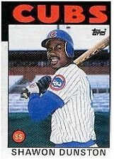 SHAWON DUNSTON  CUBS-1986  TOPPS-#72