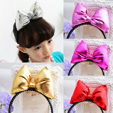 Girls Baby Fabric Hair Accessories Vogue Headbands Princess Bow-knot Hair Hoop