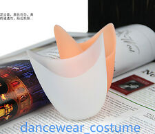 New Women Kids Ballet Dance Pointe Shoes Protection Gel Silicone Toe Pads 2Color