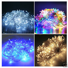 50 100 200 LED Battery Power Operated String Fairy Lights Christmas Xmas Party