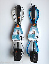 Komunity Project 7ft Standard Surfboard Ankle Leash NEW surf 7mm Cord Leg Rope