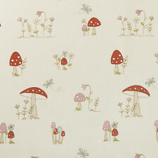 Red Toadstool Oilcloth Wipeclean PVC Vinyl Tablecloth Round Square Rectangle