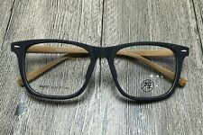 Vintage glass mens acetate wood grain eyeglasses frames  optical eyewear womens