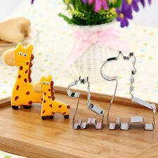 1x Animal Giraffe Cookie Biscuit Cutter Cake Pastry Bread Mould Mold Baking Tool