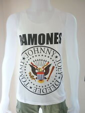 Ramones Rock Band Punk Rocker Tank Top Tunic Vest Dress Men T-Shirt Size M , L