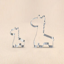 Cute 1pc Animal Giraffe Cookie Biscuit Cutter Cake Pastry Bread Mold Baking Tool