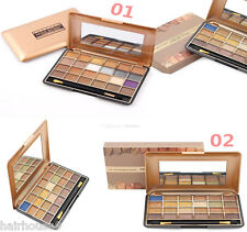 24 Color Natural Shimmer Eye shadow Palette Kit Nude Eye Shadow Make Up Set