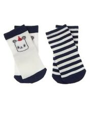 GYMBOREE TINY PANDA STRIPE N PANDA  2-PAIR OF BOYS SOCKS 3 6 NWT