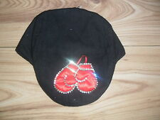 ROMANY/SPANISH BABY BOYS BLING BOXING GLOVE HAT/CAP