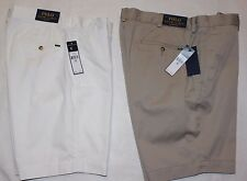"New Polo Ralph Lauren Men's Shorts Classic Fit 9"" Chino Size 34 36"
