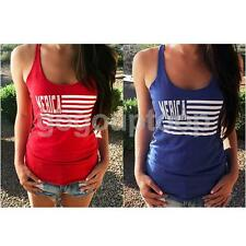 Fashion Womens Summer Vest Top Lady Sleeveless Blouse Casual Tank Tops Shirt Tee