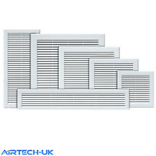 Air Vent Grille White Wall Ducting Ventilation Cover Grid