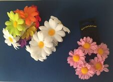 Flower Garland Bun Wrap Ring Scrunchie Perfect for Festivals Ballet Bridal