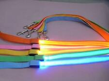 Pet Walking Leash Rope Belt LED Flashing Dog Harness Safety Light Nylon Lead