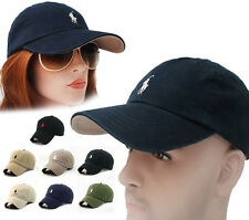 Fine Hats Polo Cap R02 Small Embroidery Classic Tenni Adjustable Baseball Unisex