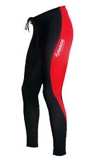 Zimco Pro Cycling Tight Cycle Men Super Roubaix Thermal Tight Padded Red/Black