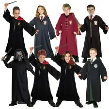 Child Harry Potter Quidditch Robe Death Eater Group Fancy Dress Costumes
