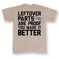 Leftover Parts Made It Right - MEN ADULT SHORT SLEEVE TEE