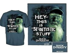 """NEW Duck Dynasty Official UNCLE SI """"Si-Intistic"""" T-Shirt"""