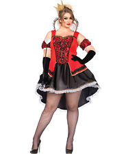 New Leg Avenue 85373X Plus Size Royally Sexy Queen Halloween Costume