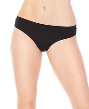 New Coquette 169X Black Plus Size Seamless Microfiber Thong