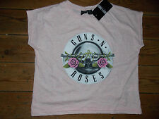GUNS N ROSES  Ladies T Shirt Top Primark Official Licensed