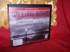 Ordinary Thunderstorms by William Boyd (2010, CD) x-Library  narra by G. Emery