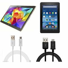 Charging Sync Data USB Cable For Tablets Samsung Amazon Kindle Google and more