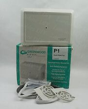 Greenwood Airvac Single Speed 2 Rooms Centrifugal Extractor Fan P1 (D537)