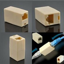 Cat5 RJ45 Lan Network Ethernet Cable Extender Joiner Adapter Coupler Connector C