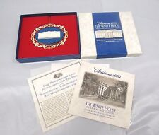 Christmas 2000 - The White House Historical Ornament - 200th Anniversary t33