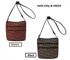 Hello Kitty × INDEN Collaboration Pochette Limited Color (Brown / Black) Japan