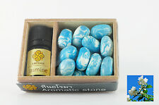 Aromatic stone diffuser with scent essential oil, Thai local product New