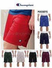 Mens Champion Mesh Shorts Pockets Athletic Sizes S M L XL 2XL