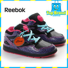 REEBOK PUMPS GIRLS SHOES CUTE CLASSIC VERSA OMNI LITE INFANT SIZE 5 US