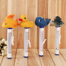 New Floating Swimming Pool Spa Hot Tub Bath Pond F/C Thermometer Animals Design