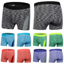 New Women Sports Shorts Fitness Running Workout Tight Stretch Yoga Short Pants