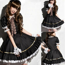 Cute Women Girls French Servant Maid Cosplay Sexy Fancy Dress Halloween Costumes